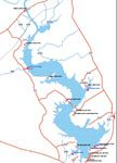 US Army Corps of Engineers Lake Whitney Park Map